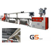 China Single Screw 3D Printer Filament Extrusion Line 8 - 15 kg/h Plastic Filament wholesale