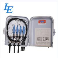 China 8 Cores Fiber Optic Cable Termination Box , Wall Mounted Optical Distribution Box on sale
