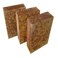 China AZM -1680 Silica mullite brick , fire resistant heat proof bricks Brown Color wholesale