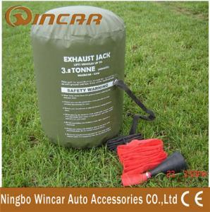 China Off Road 3. 2 Ton 4X4 Off-Road Accessories , 2000D 1. 0mm PVC Denier Exhaust Air Jack wholesale