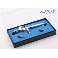 China 0.5mm Beaty Makeup Airbrush Gun with 0.2/0.25/0.3/0.5mm Nozzle OD wholesale