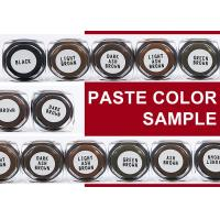 China 3ML Sample Lushcolor Permanent Makeup Cream Pigments For Eyebrow Practice wholesale