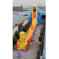 China Inflatable Huge Slide Amusement Park Inflables Jumping Castle Combo Inflatable Bouncer Slides on sale