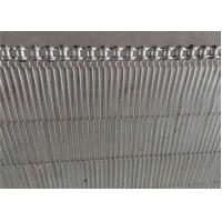 China Smooth Surface Stainless Steel Mesh Sheet U Chain Conveyor Belt For Fruit on sale