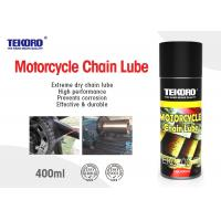 China Motorcycle Chain Lube Leaves Lubricating Non - Drying Film That Resists Wash Off & Sling Off wholesale