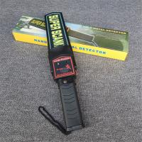 China 9V Battery Powered Hand Held Metal Detector , Hand Held Security Body Scanners on sale