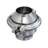 China Hygienic Sanitary Stainless Steel Food Grade Non Return Clamp Check Valve on sale