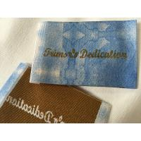 China Widely Used Damask Woven Labels , Digital Print Logo Satin Woven Labels wholesale
