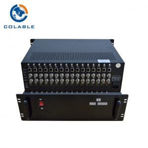 China Hotel IPTV Solution 48 Channels (16HD + 32CVBS) Live Stream Encoder COL8316HA wholesale