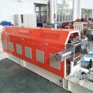 China EVA Foam Series Granulator Mixer Single Screw Plastic Extruder Force Feeder Machine wholesale