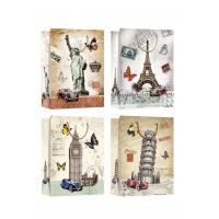 China Country Symbols Patter Design gift paper bags for tourist gift shops wholesale