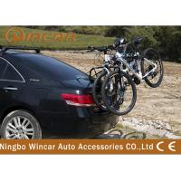 China Rear Mounted 3 Bike Steel Rear Bike Carrier for 4x4 vehicle Black Finish wholesale