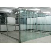China Workshop Modular Purification 0.5m/S Softwall Clean Room wholesale