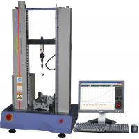 China 100N Rubber Tensile Testing Machine , Electronic Tensile Tester AC220V 5A wholesale