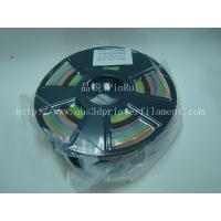 China 1.75 / 3.0 Mm Gradient Color 3d Printer Filament Rainbown Color PLA 3d Filament wholesale