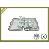 China Network 48 Core Fiber Optic Termination Box For Distribution Cable Wall Mount wholesale