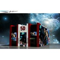 China 2 Seats / 4 Seats / 6 Seats 5D Theater System With 100 Movies Power 3.75KW wholesale