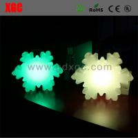 China Snowflake shape Outdoor Garden Decrative llluminated Lights wholesale