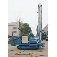 China ISO Water Well Machine Well Drilling Rig 6m Drill Rod One Time Hydraulic System wholesale