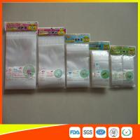 China Resealable Clear Packing Ziplock Bags , Grip Seal Strong Ziplock Bags For Packing wholesale