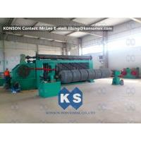 China High Speed Automated Gabion Machine Hexagonal Wire Mesh Production Line 4300mm wholesale