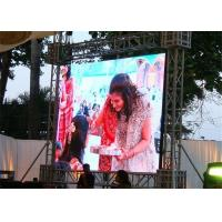 China P6 Outdoor Full Color Led Display Board , Stage Backdrop Giant Led Screen Wide View Angle wholesale