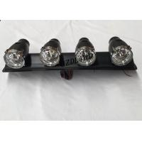 China 55W 12V 4x4 Driving Lights ,  ABS Plastic Jeep Light Bar With 4 Spotlight Bulbs wholesale