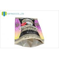 China Plastic Stand Up Pouches Packaging For Fertilizer 4 lb , PET / PE 2 Layer wholesale