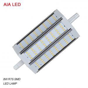 China LED-R7S-8037 AC85-265V dimmable 8W 3014 SMD LED R7S LED Lamp/ LED bulb for IP65 waterproof led flood light wholesale