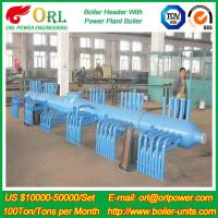 China 10 T Plant Rate Factor Power 300 MW Boiler Steam Header Natural Oil Chemical Industry wholesale