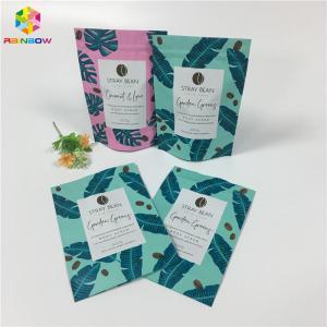 China High Barrier Aluminum Foil Custom Printed Snack Bags For Sea Salt / Body Scrub wholesale