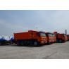 Buy cheap Heavy Duty Garden Cart Tipper Dump Truck , Tandem Axle Dump Truck Max Speed 75 Km/H from wholesalers