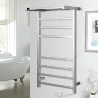 China Pratical Elegant Square Shelf Stainless Steel Wall Mounted Electric Heated  Towel Rail wholesale