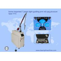 China Q Switched Nd Yag Laser Tattoo Removal Machine Light Guiding Arm 7 Joints 1064nm wholesale