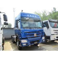 China Heavy Duty 336hp 371hp Sinotruk Howo Truck Tractor Head HW76 Standard Cabin on sale