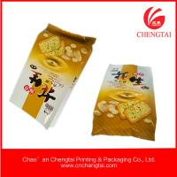 China 80micron Food Grade Gusseted Plastic Bags for biscuit packaging wholesale