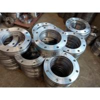 China ANSI DIN Stainless Steel Forged Casting Slip-on Pipe Flange wholesale