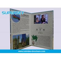 HD Professional Video In Print Brochure Paper Material For Opening Ceremonies