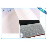 Quality 160cm-240cm White or Grey PP Non Woven Fabric With PVC Dot Used as Sofa or Mattress Bottom Coverings for sale