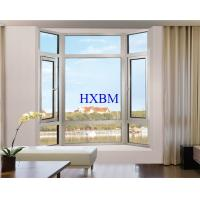 China Heat Preservation White Upvc Windows , Energy Saving Upvc French Windows wholesale