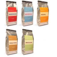 China Printed Matte Finish Coffee Bags Packaging Tin-tie Silvery Square Bottom wholesale