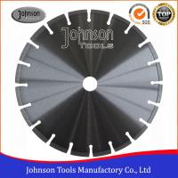 China Durable 300mm Diamond Cutting Blades Circular Shape For Dry / Wet Cutting wholesale