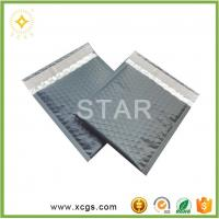 China Matte Black metallic bubble mailer / Custom logo bubble envelope /Photo Frame bubble bag wholesale