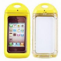 China 6m Depth Waterproof Swimming Cases for iPhone 4/4S, IPX8-certified wholesale