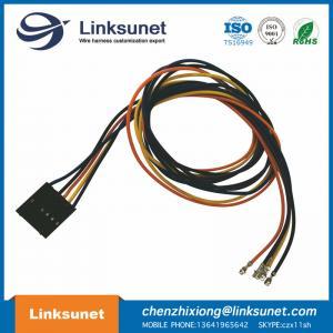 China MOLEX 50 - 57 - 9405 SL Crimp Housing , Single Row , Male Female Automobile Wire Harness / 2.54mm Pitch wholesale