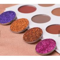 China Waterproof Glitter Eyeshadow Palette Mineral Ingredient Suit For All Skin wholesale