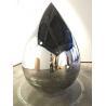 Buy cheap Water Drop Metal Art Sculptures 316 Polished Outdoor Metal Garden Sculptures from wholesalers