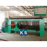 China Double Rack Drive Hexagonal Mesh Machine 4300mm With High Frequency Motor wholesale