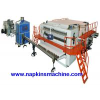 China Fully Automatic Embossing Facial Tissue Machine Production Line Box Package wholesale