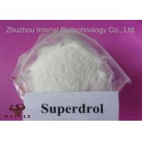 China Superdrol Powder Growth Hormone Steroid , Methyldrostanolone For Muscle Enhancement wholesale